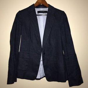 Zara Denim Women's Blazer Size US 4
